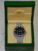 Rolex Watch Edible Handmade Cake Topper